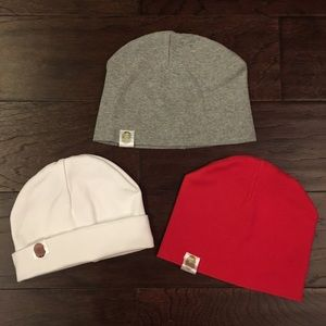 Other - Three baby beanie hats